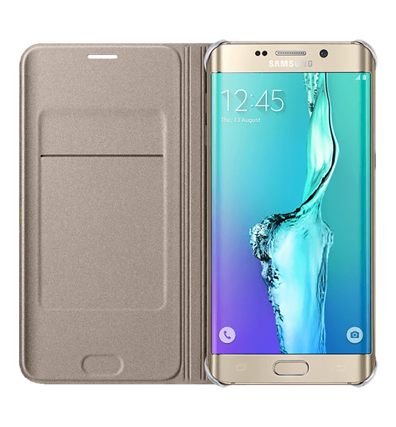 Samsung Galaxy S6 EDGE PLUS dėklas PU Flip-Cover
